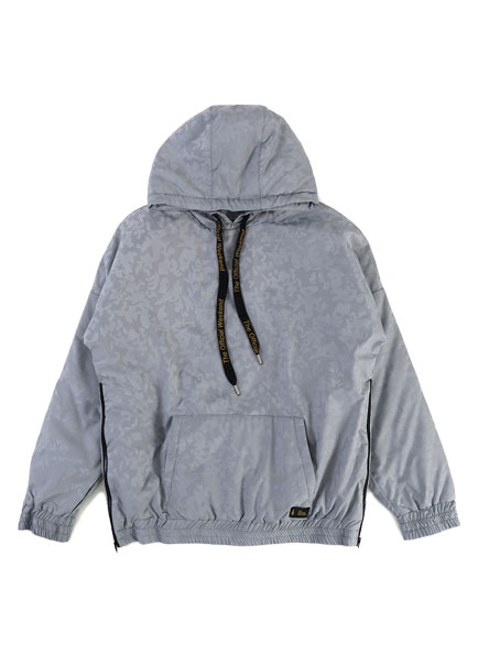 [더오피셜위크앤드]CAMO PADDING SIDE ZIP-UP HOODIE