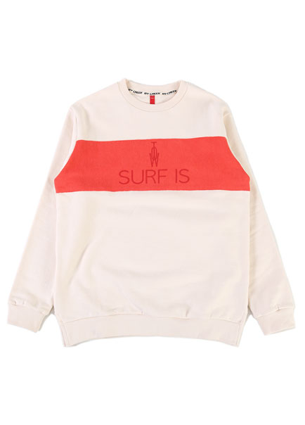 [더오피셜위크앤드]SURF IS RAISING WARM SWEAT SHIRTS