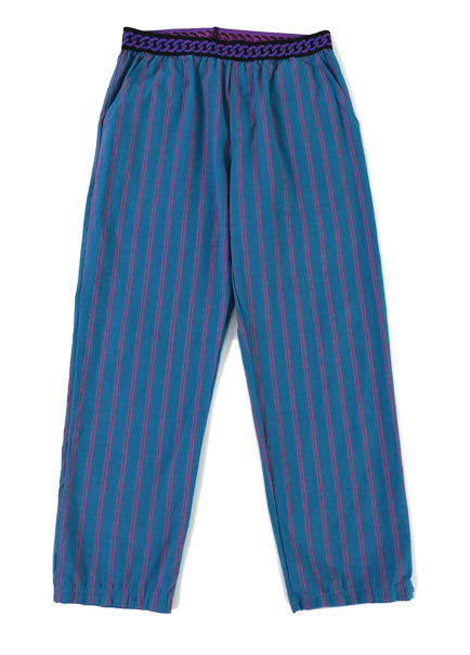 [더오피셜위크앤드]COBALT STRIPE HOME WEAR PANTS